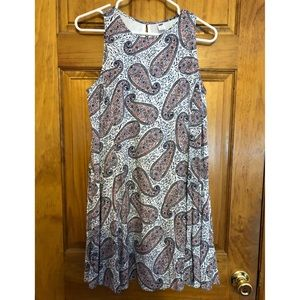 Old Navy Paisley Dress